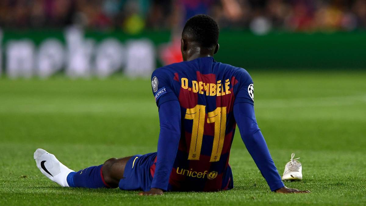 Barcelona Set To Offload Dembele In Cut-price Deal