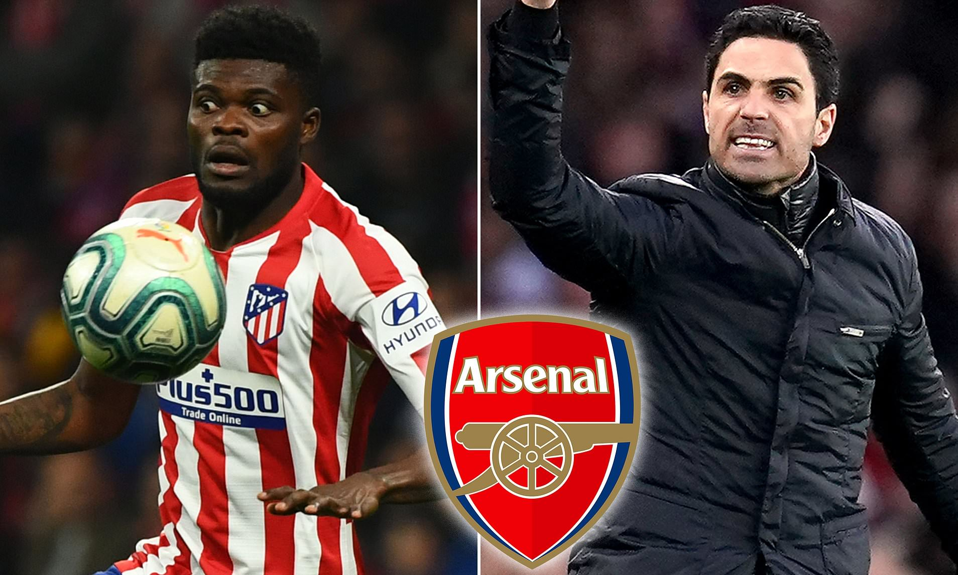 Partey's Father Admits Arsenal In Talks With Atletico Madrid