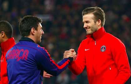 Beckham: How Messi's Embarrassment Forced Me To Retire