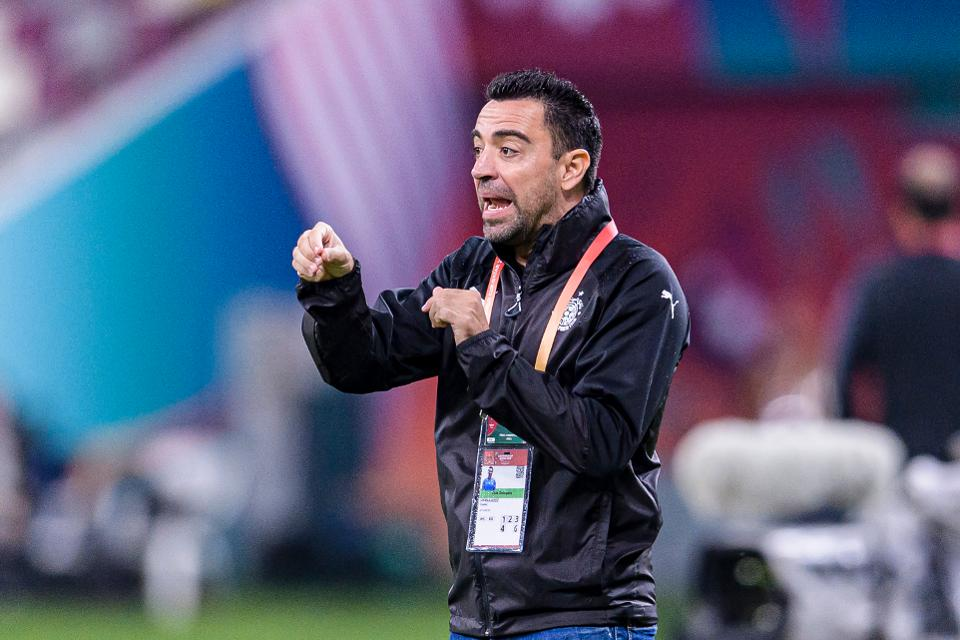 Xavi Restates Firm Ambition To Become Barcelona Coach
