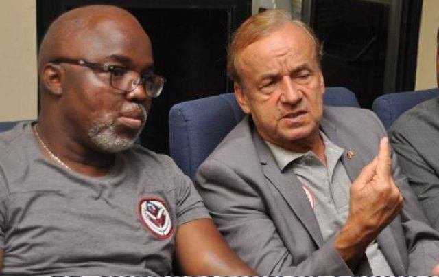 Pinnick: NFF Not Plotting To Force Rohr Out Of Super Eagles Job