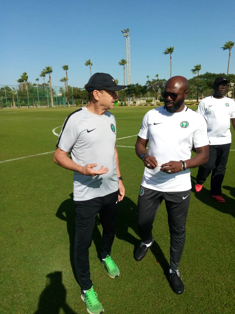 Pascal: Rohr Deserves New Super Eagles  Contract