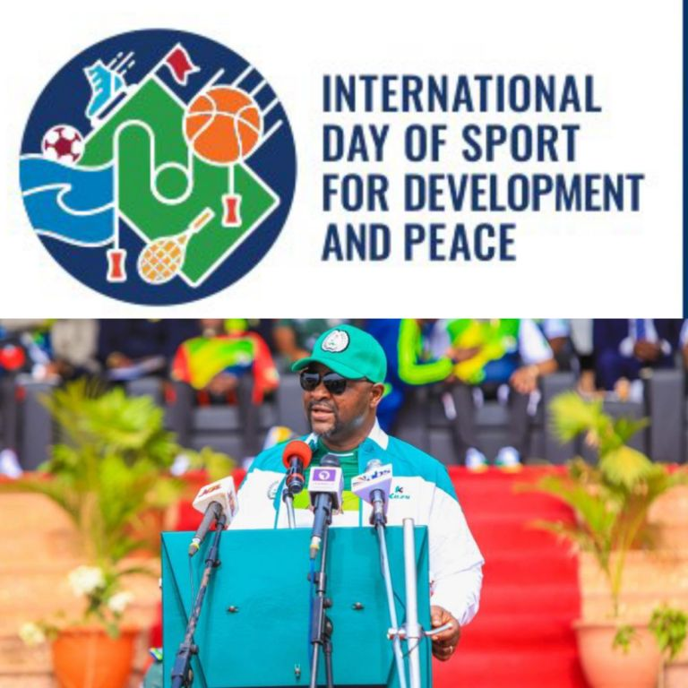 Int'l Day Of Sport For Development And Peace: Dare Urges Athletes' Firm Hope