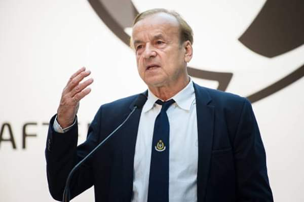 Rohr Ready To Extend Super Eagles Stay; Says 'I Don't Want More Money'