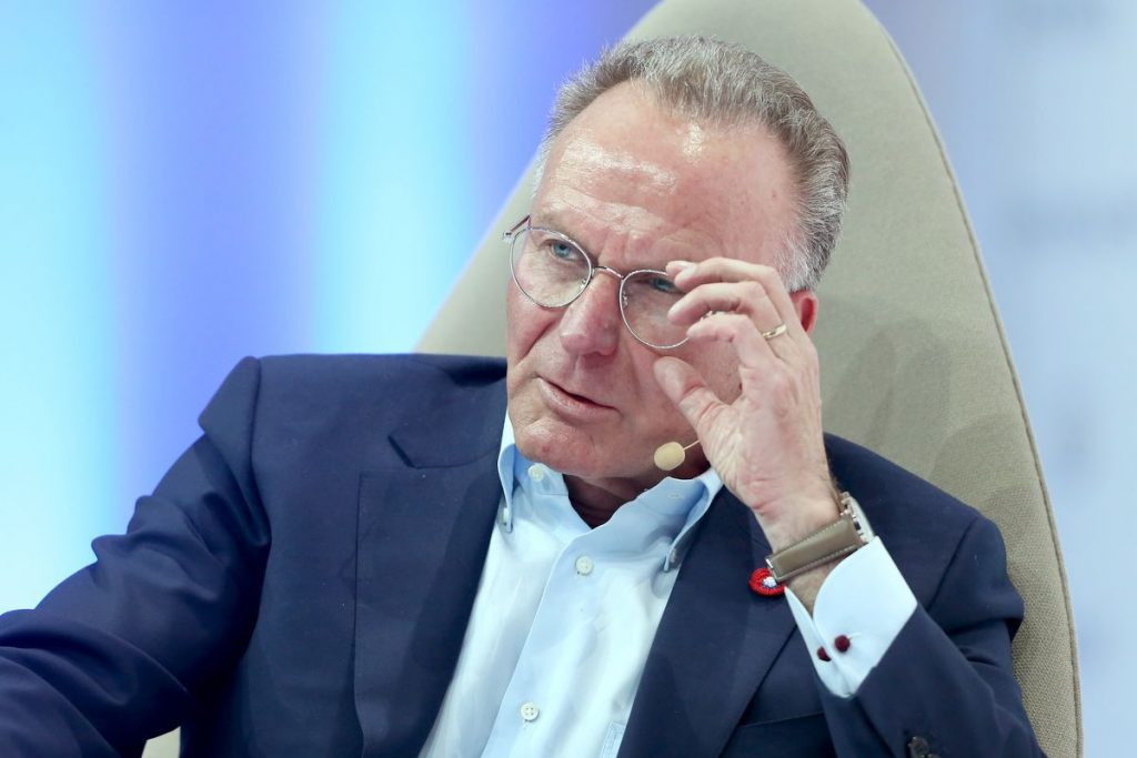 Rummenigge Wants Leagues To Restart Soon For Sporting, Economic Reasons