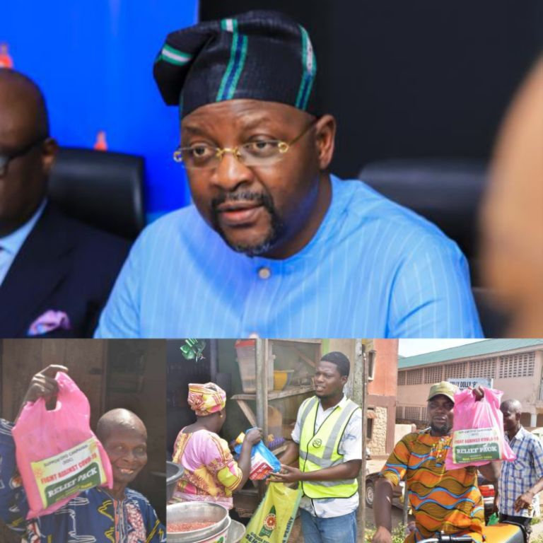 COVID-19: Sports Minister Distributes Relief Packs to Five LGAs In  Oyo
