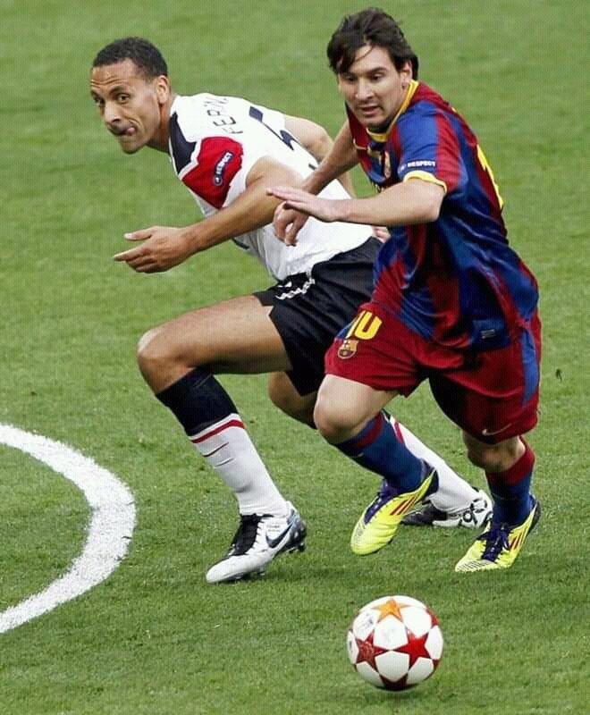 Ferdinand: Messi Embarrassed Me In Champions League Final