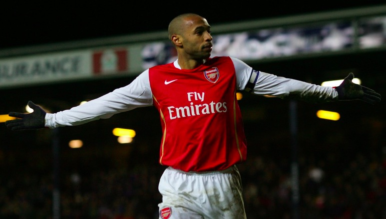 Henry Voted Premier League's Greatest Player Ever