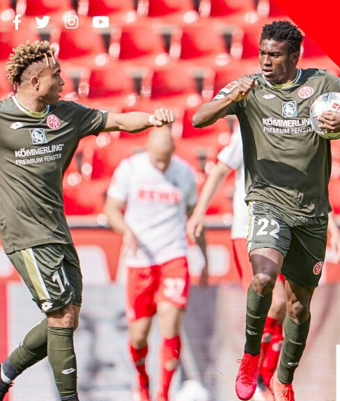 Bundesliga: Awoniyi Opens Goals Account; Ehizibue In Action As Mainz Hold Cologne