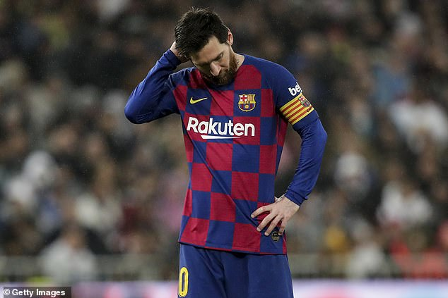 Five Barcelona players 'tested positive for coronavirus' - but club kept results hidden
