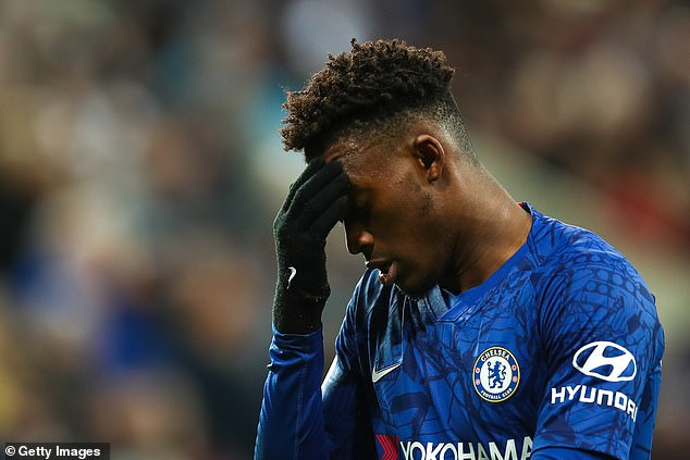 Chelsea star Hudson-Odoi arrested on suspicion of rape