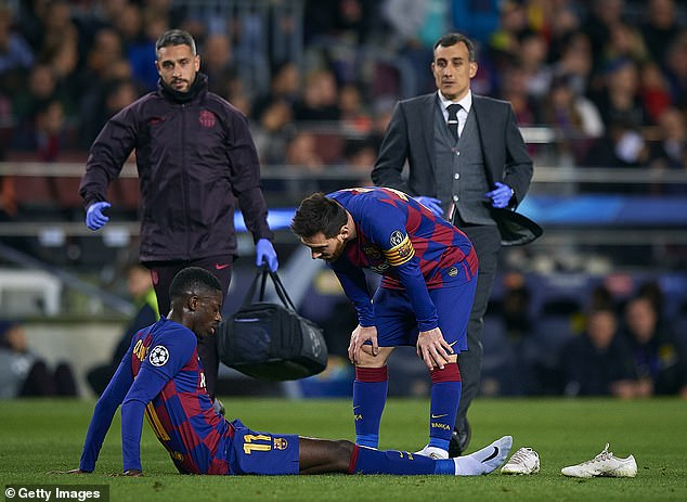 Barcelona Drop Dembele Asking Price To Just £37m