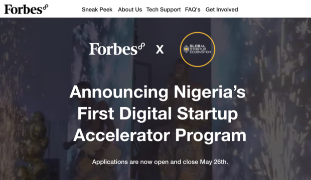 Forbes8 Launches Nigeria's First Digital Startup Accelerator Program To Support Business Resilience During COVID19 Pandemic