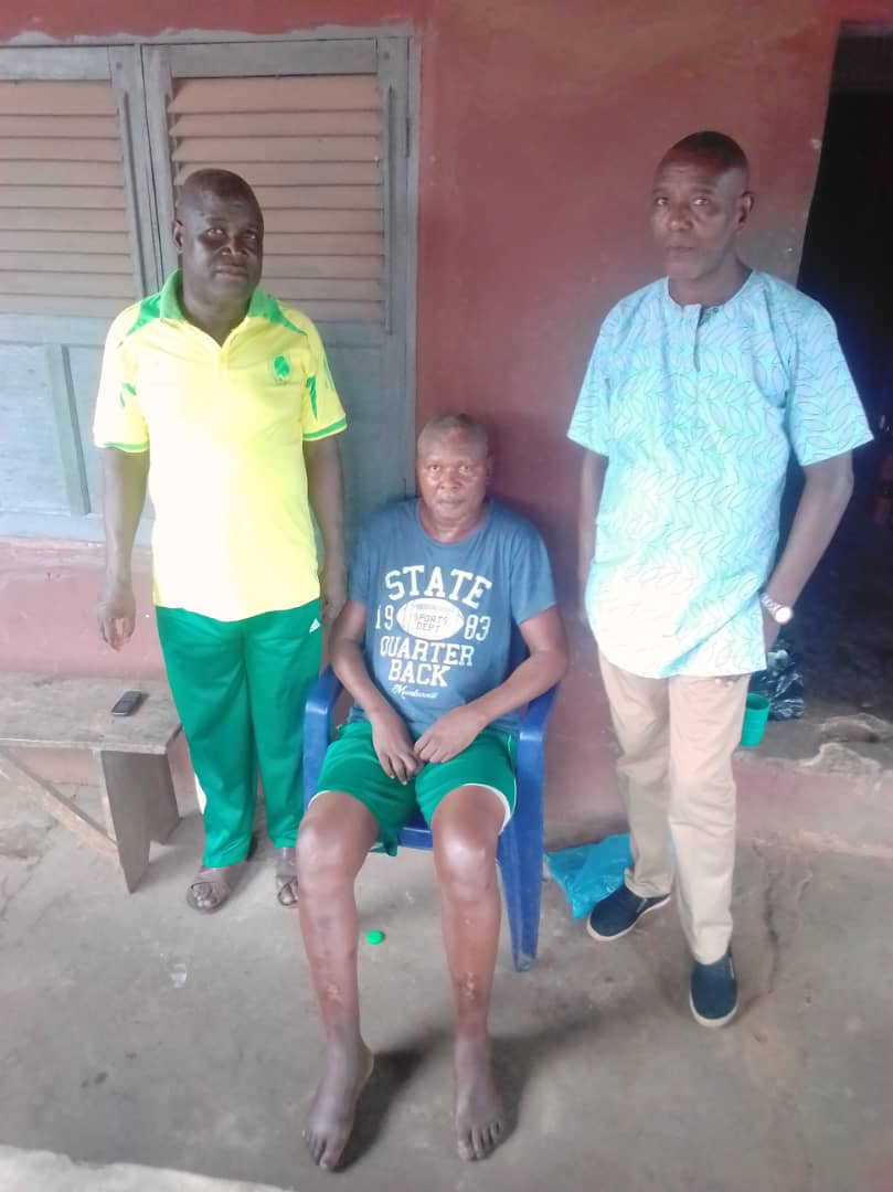 Eboigbe Gets Medical Support From Sports Minister, Edo State Deputy Governor