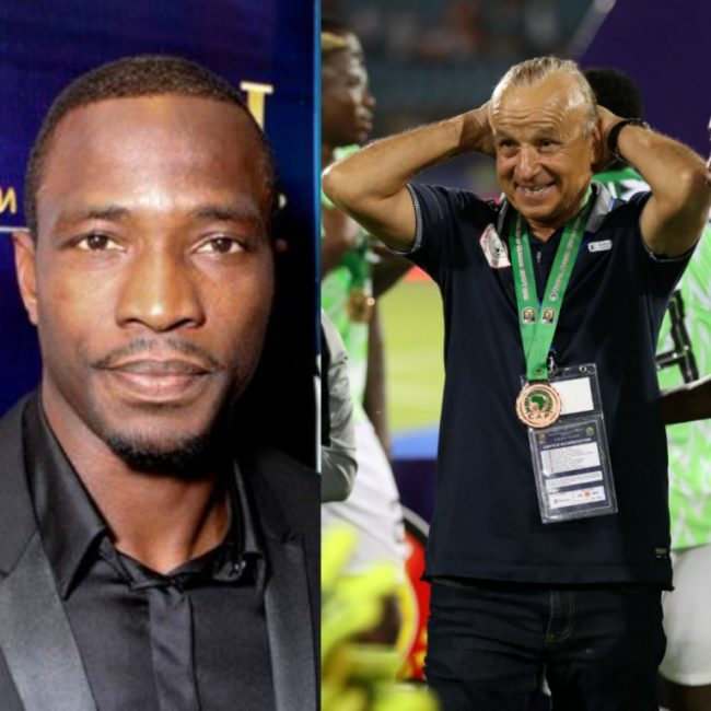 Utaka Backs Rohr To Succeed With Super Eagles