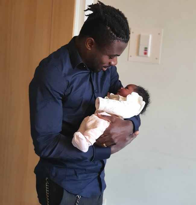 Ligue 1 Congratulates Simon Over Birth Of Daughter