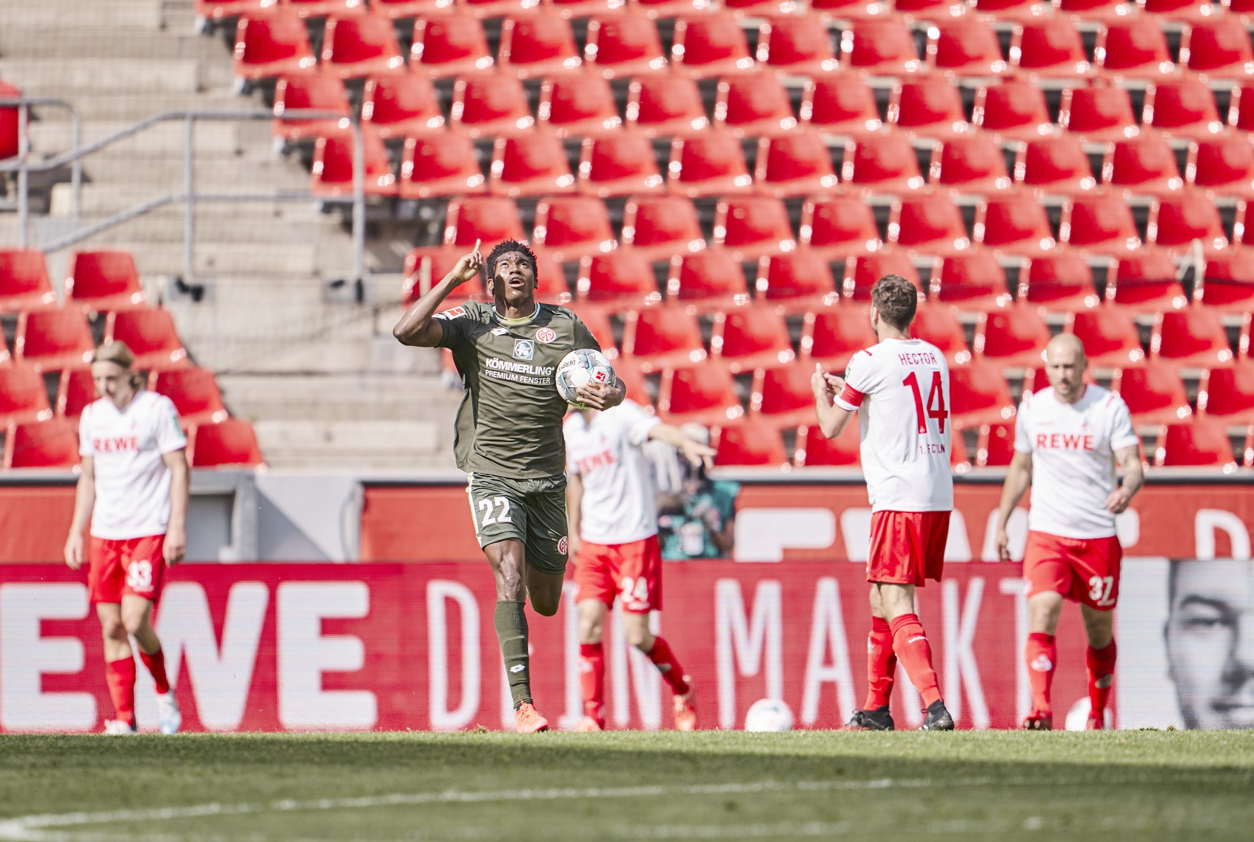 Awoniyi  Delighted  To Score First Goal For Mainz
