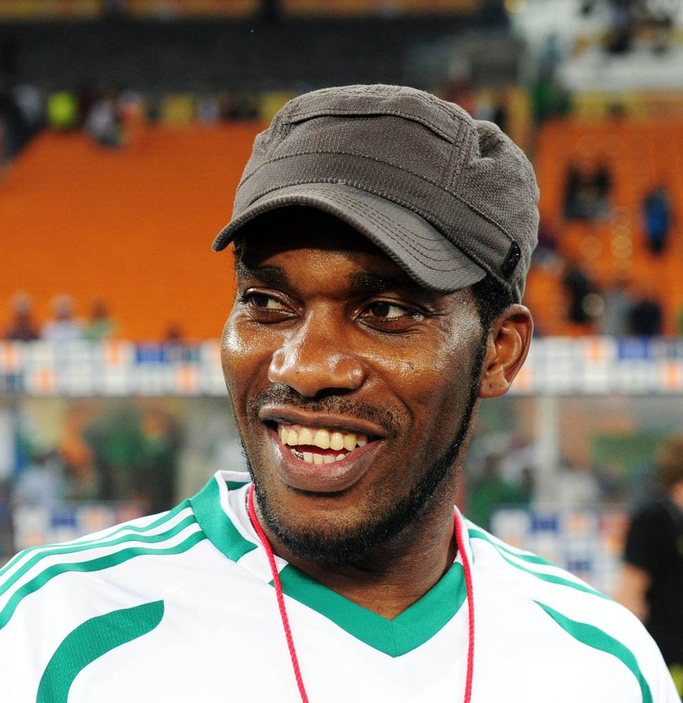 Diouf Rates Okocha  Africa's Most Talented Footballer