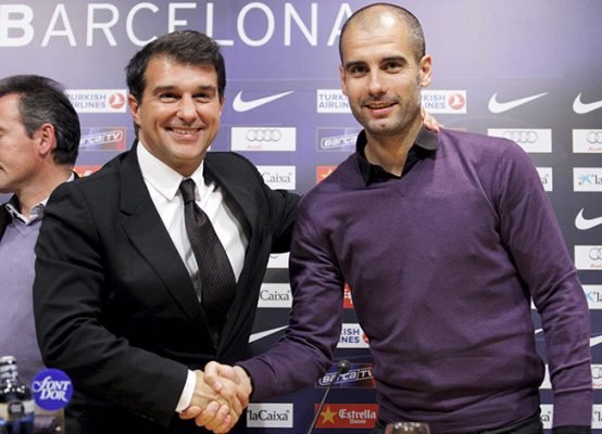 Ex-Barcelona President Laporta Plans Guardiola Return If Elected