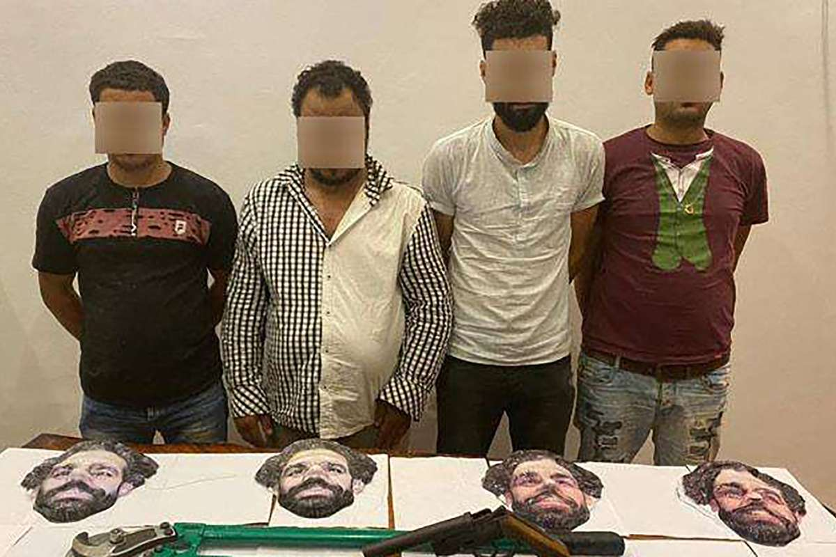 Four Men Arrested In Egypt After Attempting To Rob Store Wearing Salah Masks