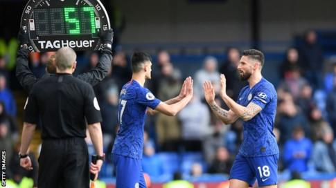 Five Substitutes Approved For Rest Of Premier League 2019-20 Season