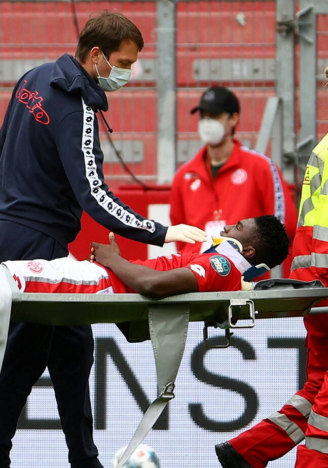 Awoniyi Recounts Latest Injury Experience: 'I Wanted To Continue Playing'