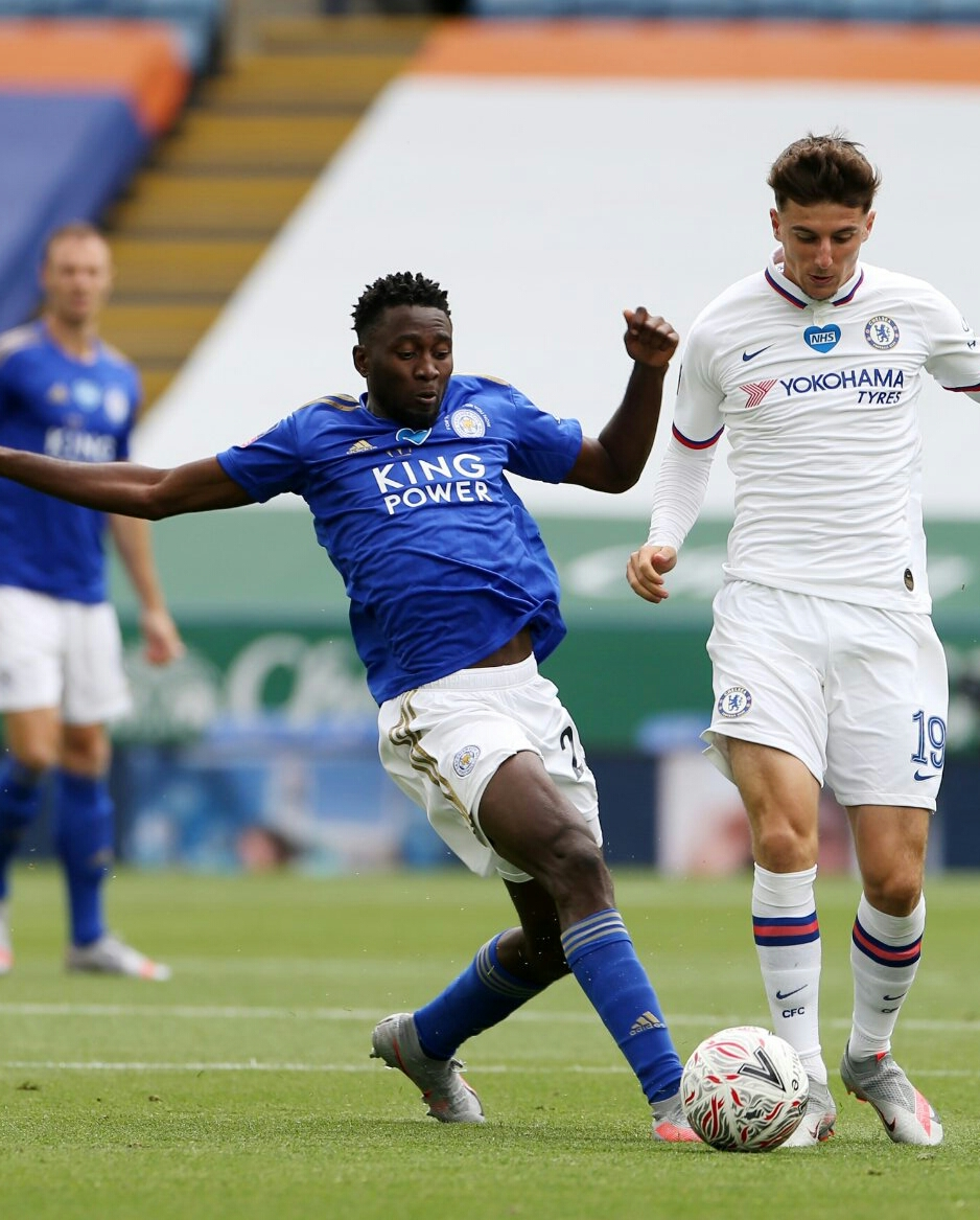 Ndidi In Action, Iheanacho Benched As Chelsea Beat Leicester, Qualify For FA Cup Semi-final