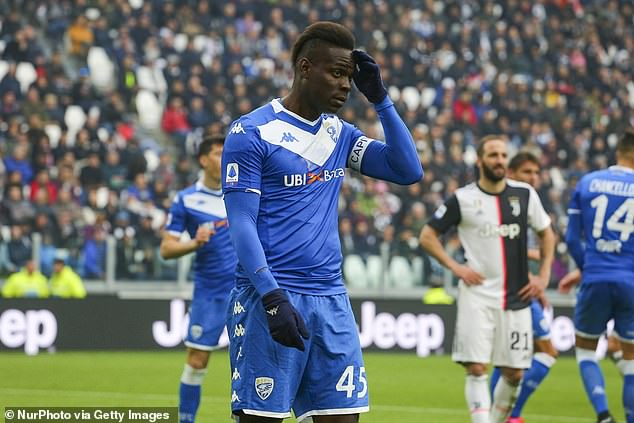 Balotelli In Talks With Third Division Club Como Over Move