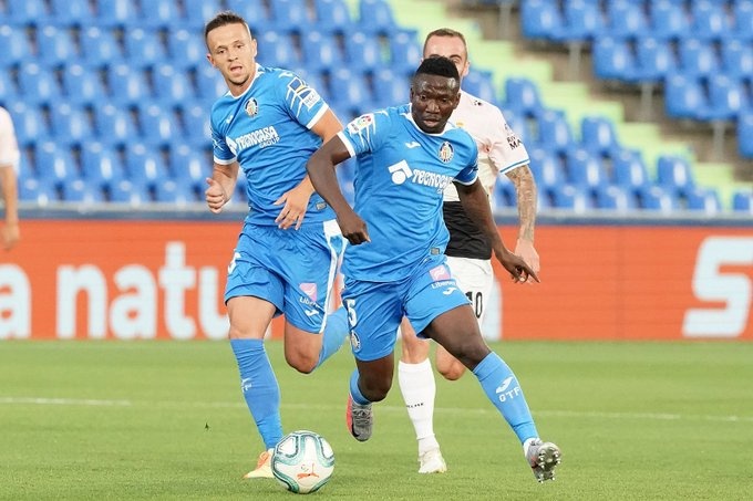 LaLiga: Bordalas Rules Out Etebo For Getafe's Trip To Osasuna