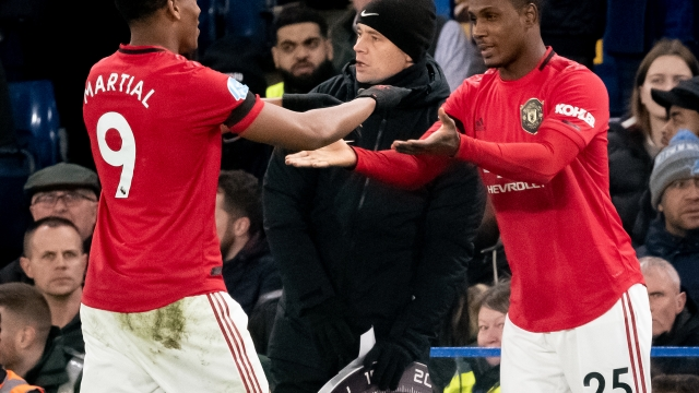 Solskjaer: Martial Learning From Experienced No. 9 Ighalo
