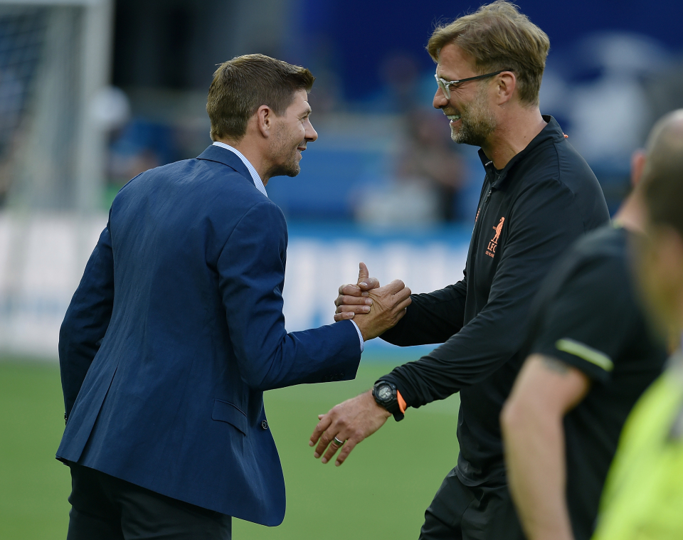Gerrard Wants Liverpool To Build Statue For Klopp