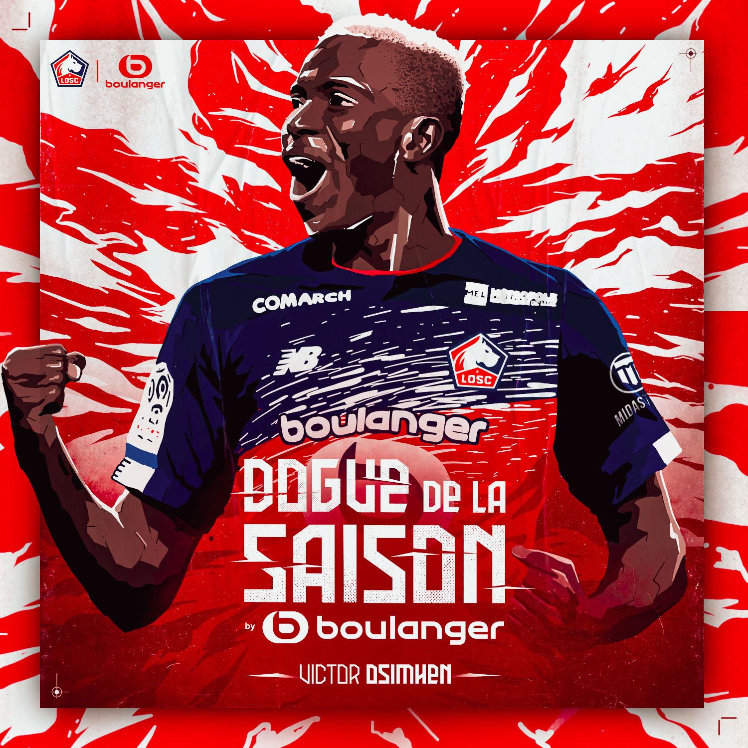Osimhen Voted Lille Player Of The Season