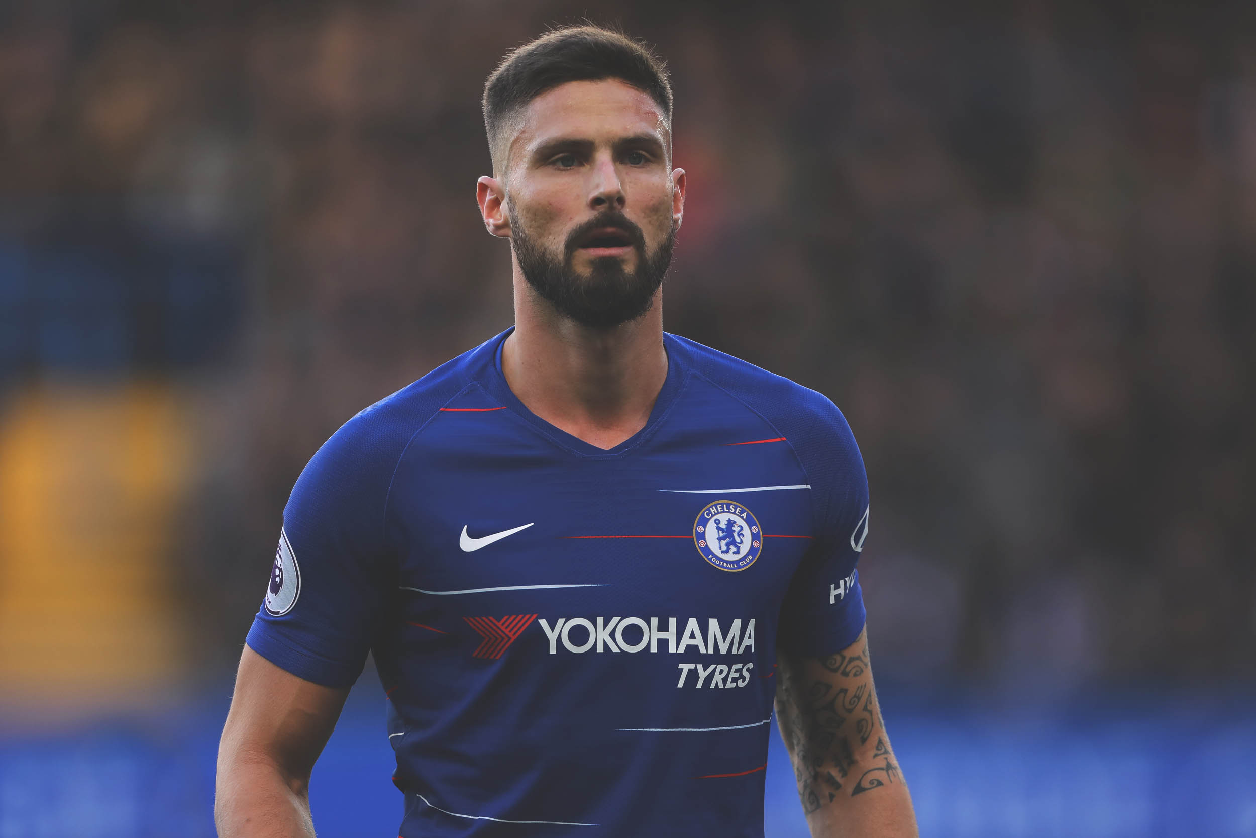 Giroud:  God Influenced My Stay At Chelsea