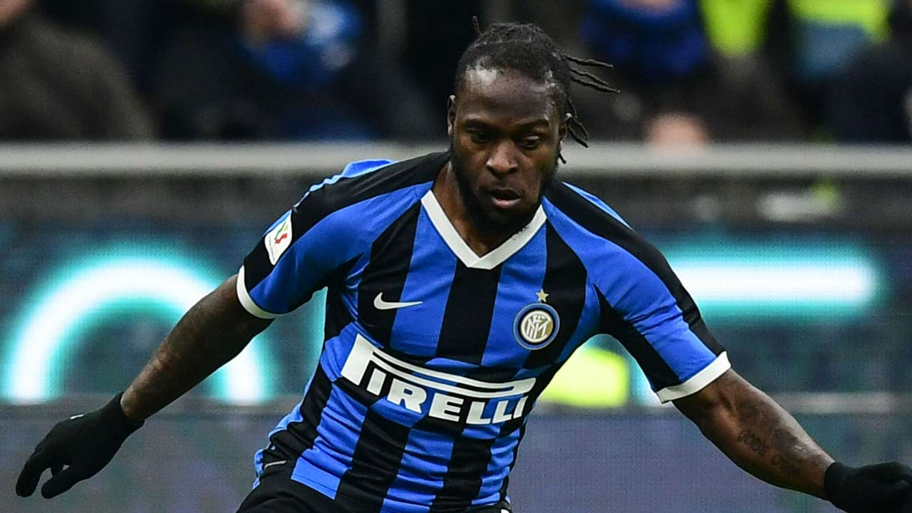 Moses Set For Bench Role In Napoli Vs Inter Milan Coppa Italia Semi-Final
