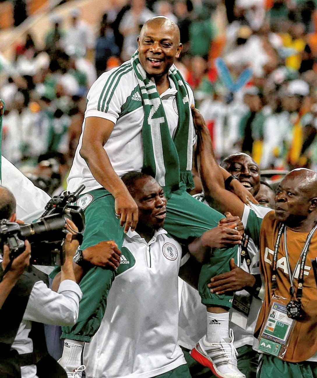Yobo, CAF Pay Tribute To Late Keshi