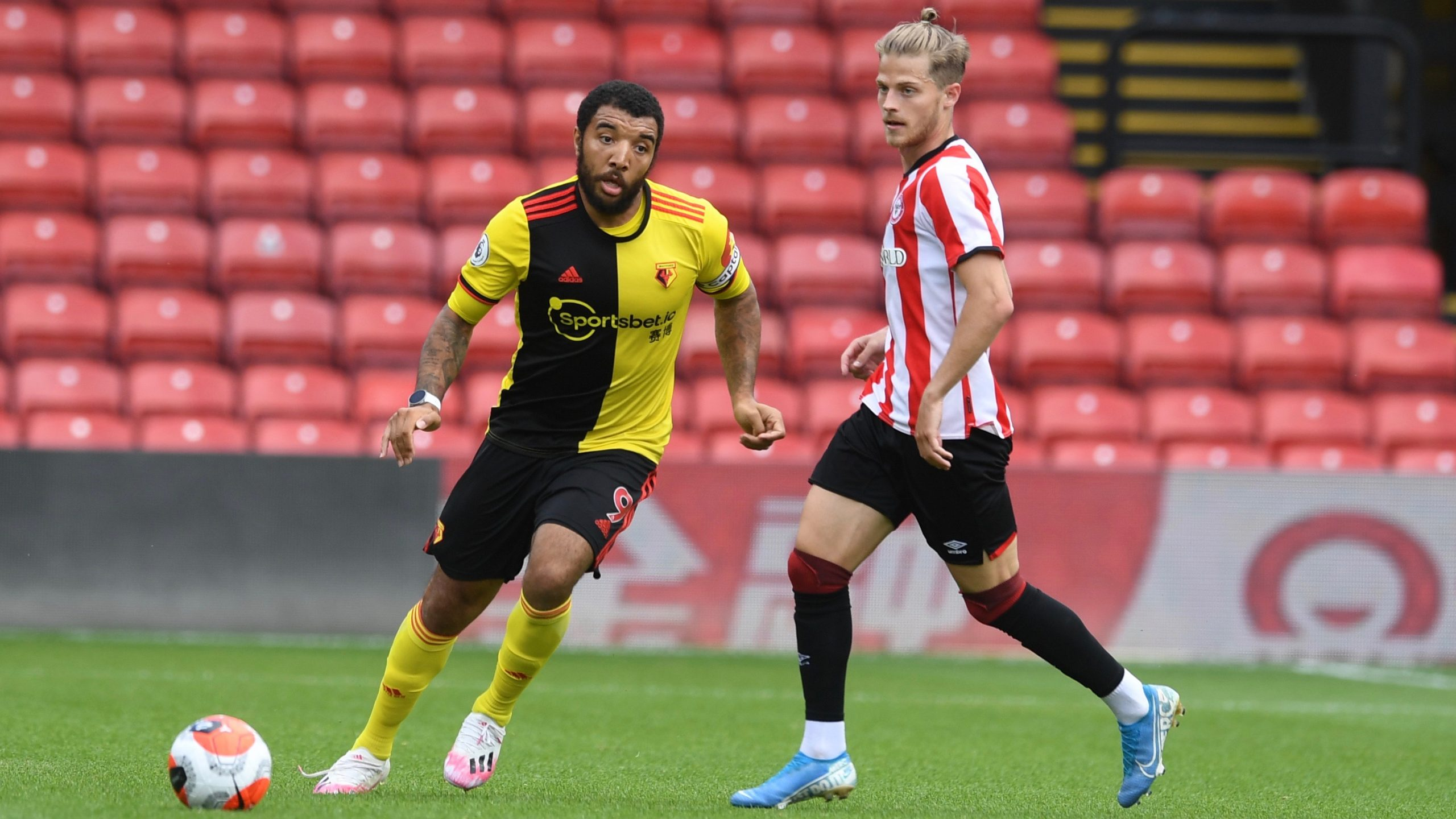 Dele-Bashiru  In Action  As Watford Pip  Brentford 2-0 In Friendly