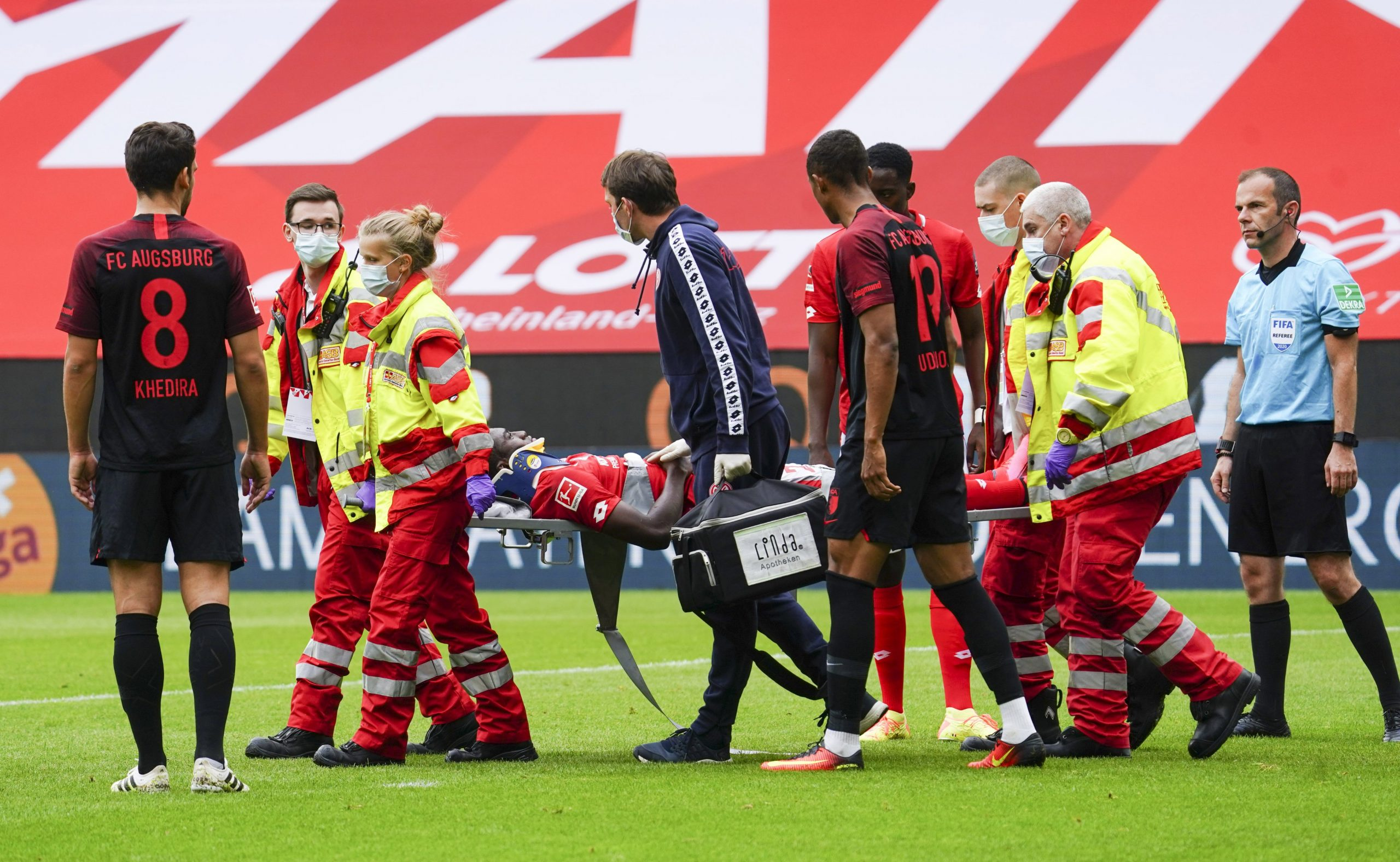 Mainz: Awoniyi Suffered  Concussion  Vs Augsburg, To Spend Night In Hospital