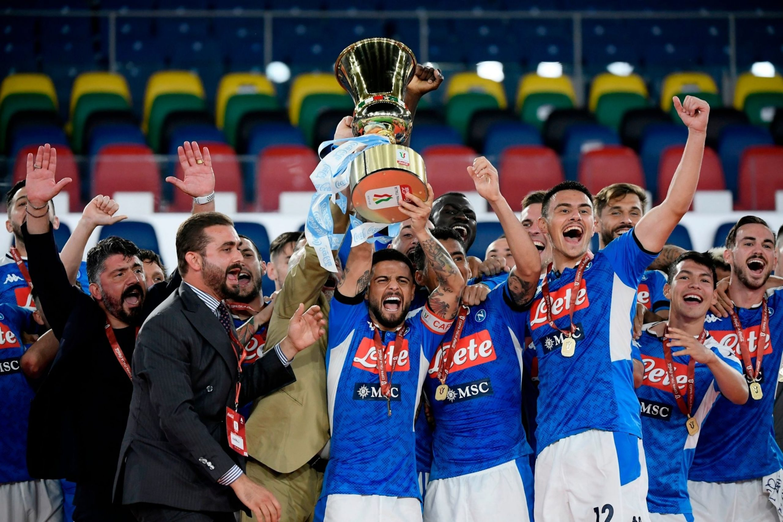 Napoli Beat Juventus On Penalties To Win Coppa Italia
