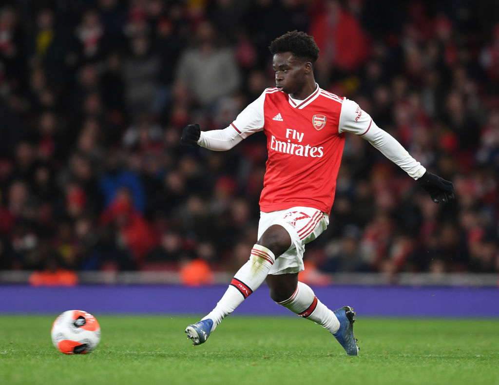 Saka Close To Signing New Arsenal Contract