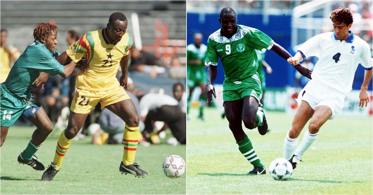 Late Yekini Floors Ghana Legend Yeboah In FIFA's Best Striker Poll