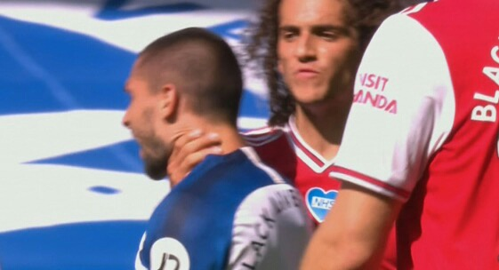 Arsenal's Guendouzi Facing FA Charge, Ban After Grabbing Brighton's  Maupay By Throat