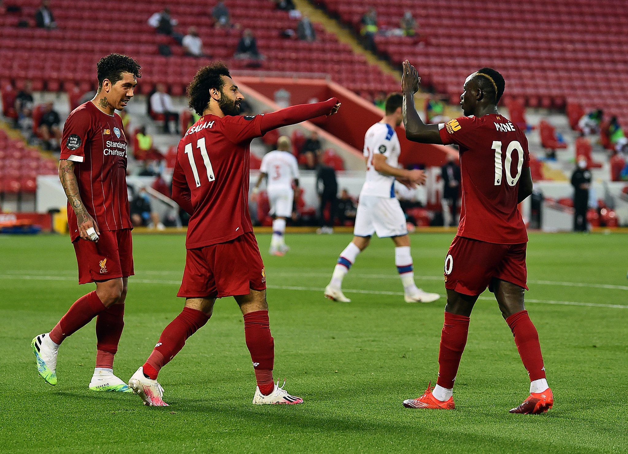 Liverpool Thrash Crystal Palace, Inch Closer To Premier League Title