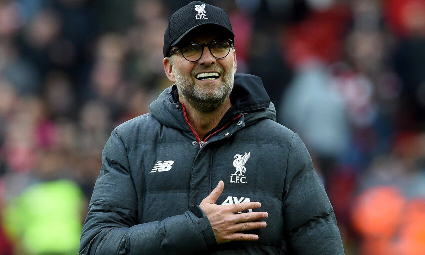 Klopp Calls Liverpool's March To Title  'Unbelievable'