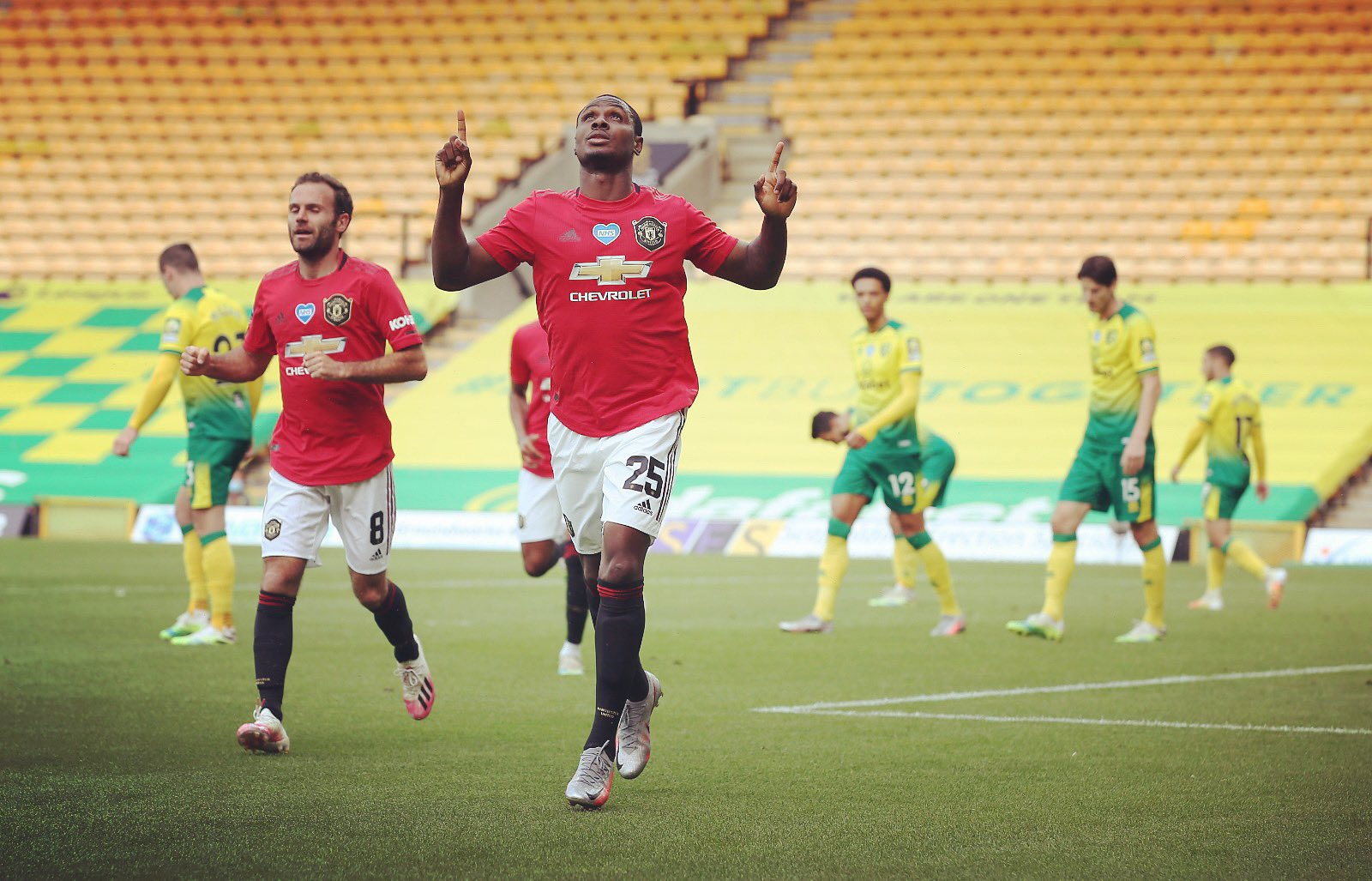 Ighalo Nominated For Man United's Goal Of The Month Award