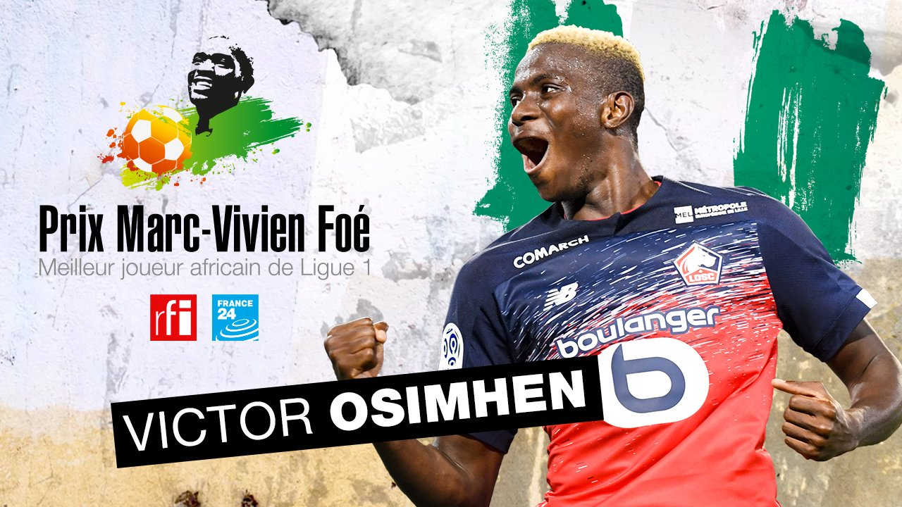 Osimhen Voted  Best African Player In Ligue 1