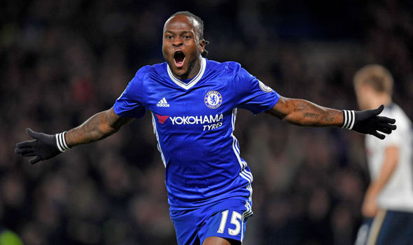 Moses Gets Closer To Chelsea Exit; Omitted In The Blues' Shirt Number Allotment