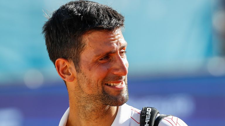Tennis Star Djokovic, Wife Test Positive For Coronavirus