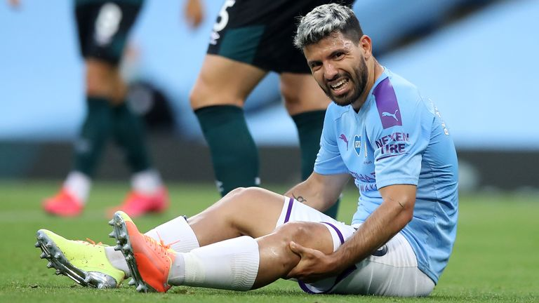 Guardiola Gives Worrying Report On Aguero's Injury
