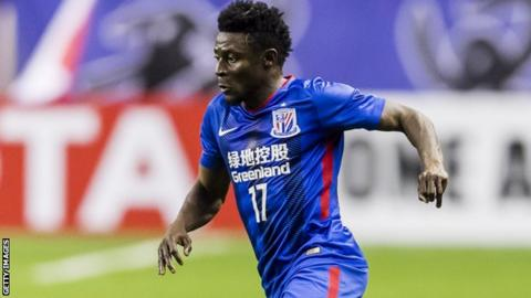 Chinese Super League: Martins Benched As Shanghai Shenhua Claim First Away Win