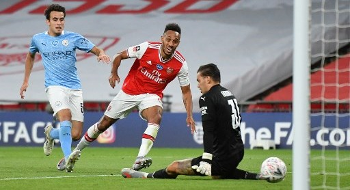 Super Eagles Star Begs Arsenal To Keep Aubameyang